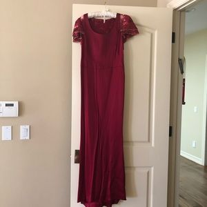 Escada custom gown.